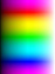 An analog spectrum is infinitely variable