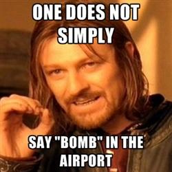 Boromir knows best.